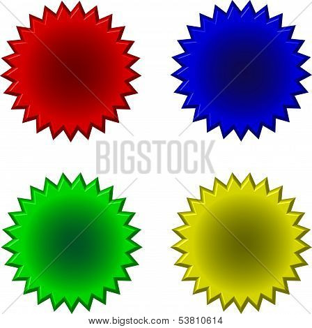 Buttons Stars