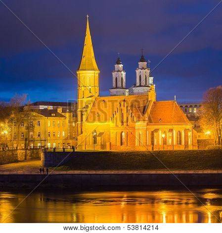Vytautas the Great Church in Kaunas, Lithuania