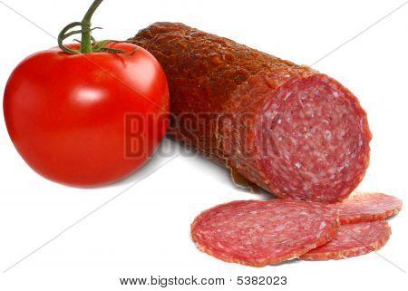 Salami And Tomato