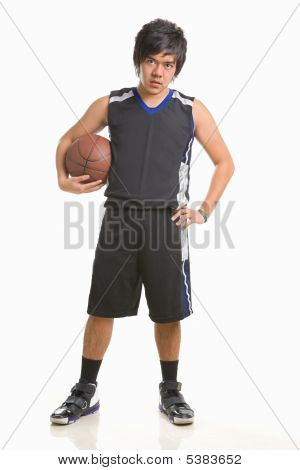 Basketball Player Pose