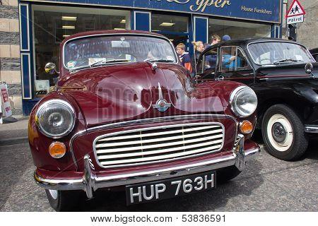 Morris Minor cars