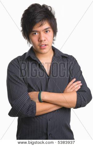 Trendy Asian Teenager