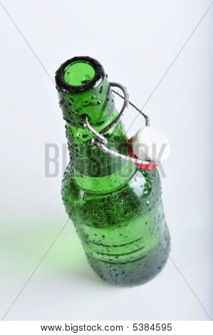 The Bottle Is Covered Dew