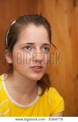 Weariness Sporty Girl