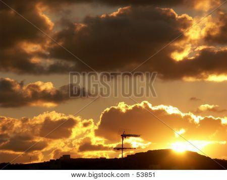 Sunset, Malta
