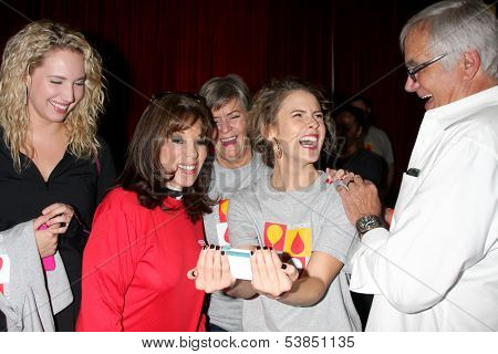 LOS ANGELES - OCT 6:  Molly McCook, Kate Linder, Char Griggs, Linsey Godfrey, John McCook at the Light The Night The Walk to benefit LLS at Sunset-Gower Studios on October 6, 2013 in Los Angeles, CA