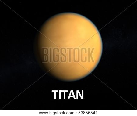 The Saturn Moon Titan