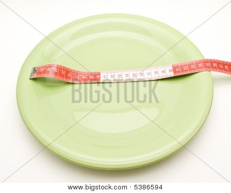 Plate With Tape Measure
