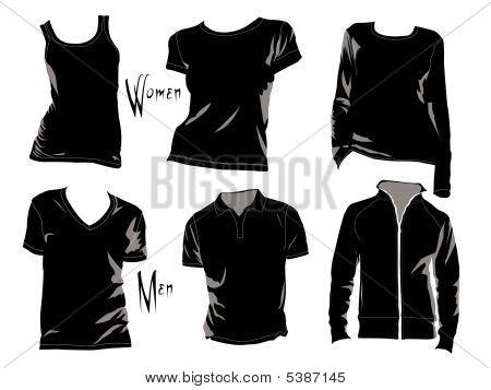 T-Shirt Vorlage.