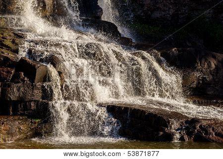Cascading Lower Gooseberry Falls