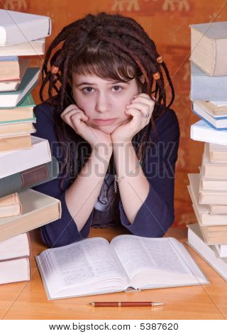Student And Books