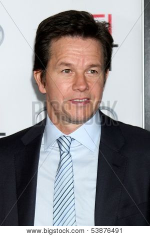 LOS ANGELES - NOV 12:  Mark Wahlberg at the