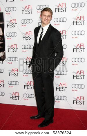 LOS ANGELES - NOV 12:  Alexander Ludwig at the