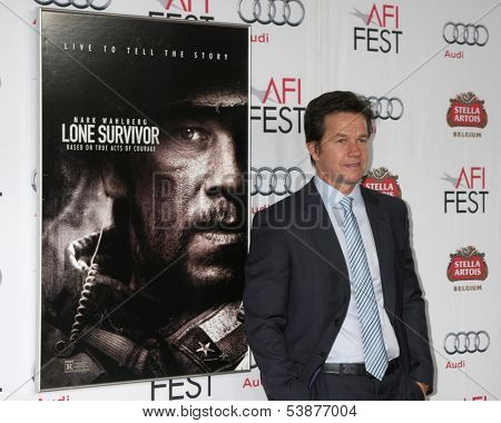 LOS ANGELES - NOV 12:  Mark Wahlberg at the