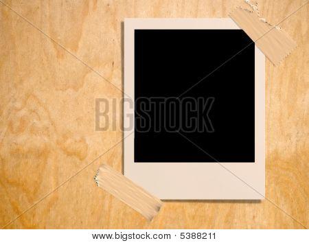 Photoframe On Plywood