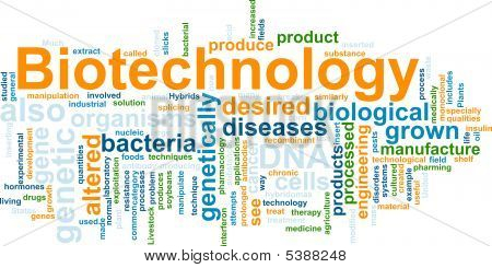 Biotechnology Word Cloud