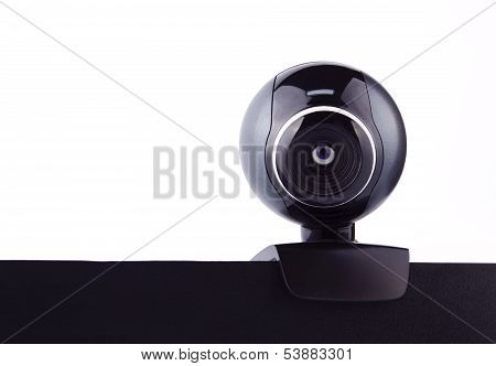Web Camera With The Eye, Making It's Surveillance