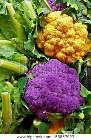Technicolor cauliflower
