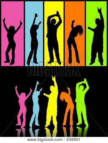 Disco Tänzer