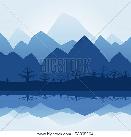 Mountain Silhouette.eps