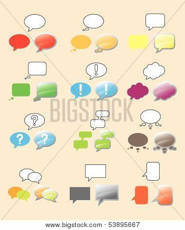 Text Bubbles Set.eps