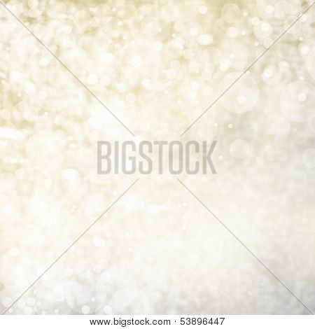 Glittering Lights Festive Background