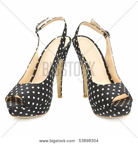 Shoes Isolated On A White Background