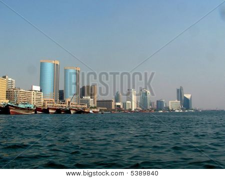 Dubai Creek Skyline