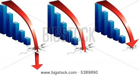 Graph Downturn