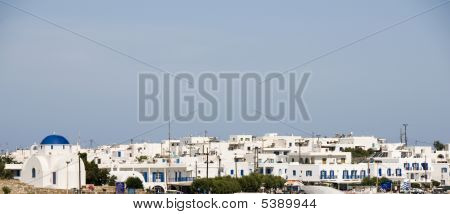 Panoramic View Antiparos Cyclades Island Greece