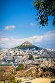 pic of akropolis  - Beautiful view of Athens old city - JPG
