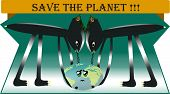 picture of polution  - The planet must be saved from polution - JPG