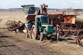Old Agriculture Machines