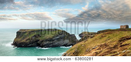 Tintagel In Cornwall