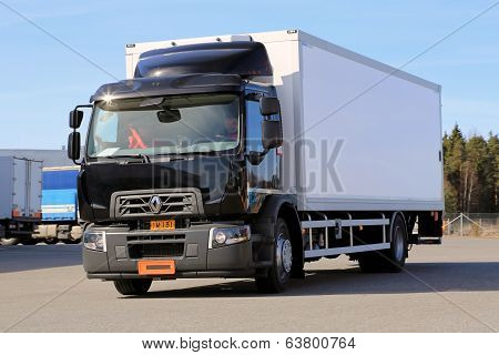 Renault Range D Truck On A Test Drive
