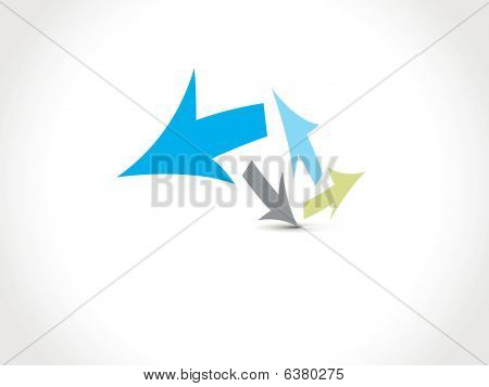 abstract arrow background