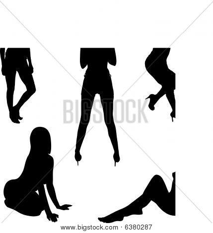 Girl Black