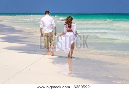 Spouses On The Beach