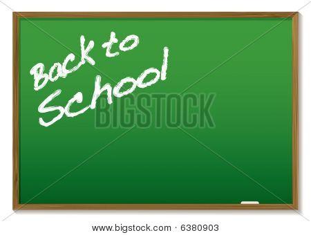 Chalkboard Back To School