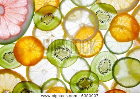 Brighten citrus cross sections