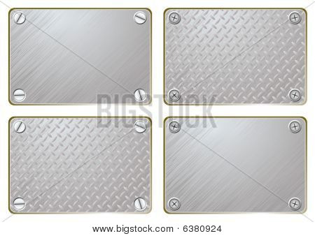 Metal Name Plate