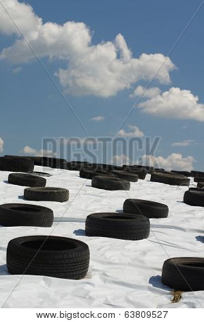 tire landscape abstract