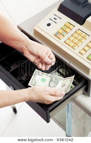 Cash Register - Small Change