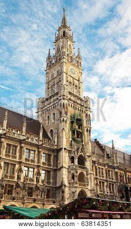 New City Hall At Marienplatz Munich