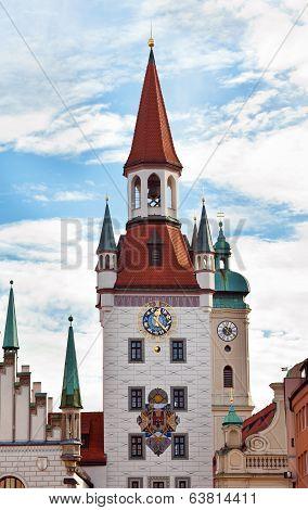 Zodiac Clock Tower, Munich, Germany