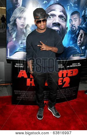 LOS ANGELES - APR 16:  Ne-Yo at the