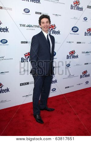 BODHILOS ANGELES - APR 22:  James Frain at the 8th Annual BritWeek Launch Party at The British Residence on April 22, 2014 in Los Angeles, CA