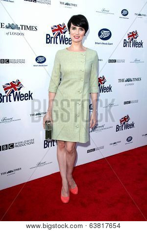 LOS ANGELES - APR 22:  Victoria Summer at the 8th Annual BritWeek Launch Party at The British Residence on April 22, 2014 in Los Angeles, CA
