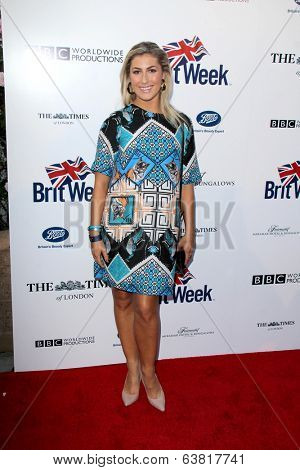 BODHILOS ANGELES - APR 22:  Emma Slater at the 8th Annual BritWeek Launch Party at The British Residence on April 22, 2014 in Los Angeles, CA