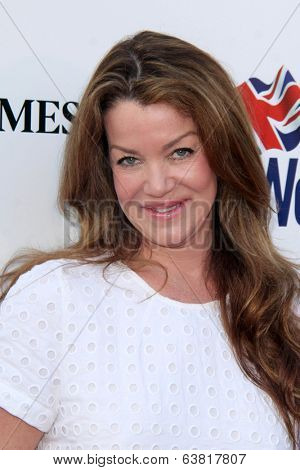 BODHILOS ANGELES - APR 22:  Claudia Christian at the 8th Annual BritWeek Launch Party at The British Residence on April 22, 2014 in Los Angeles, CA